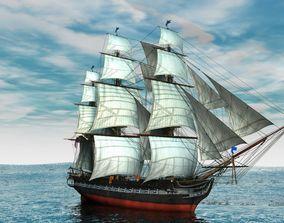 3D Seatraveler ship