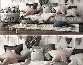 Children Set sleep 3D
