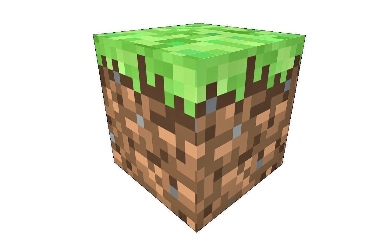 Minecraft Grass Block 3D model  CGTrader