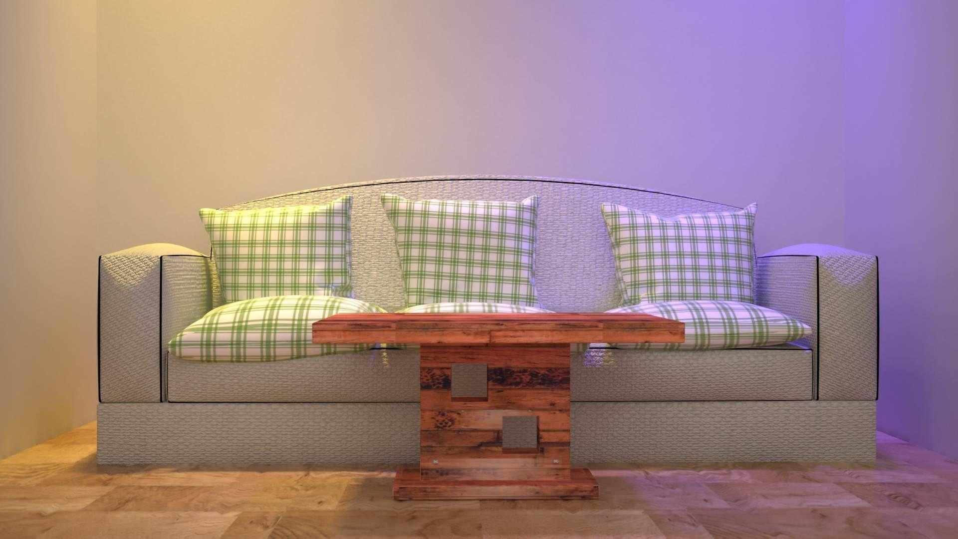 Sofa Set 3D model sofaset | CGTrader