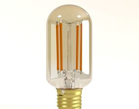 Decorative Edison Radio Bulb LED E24 3D model