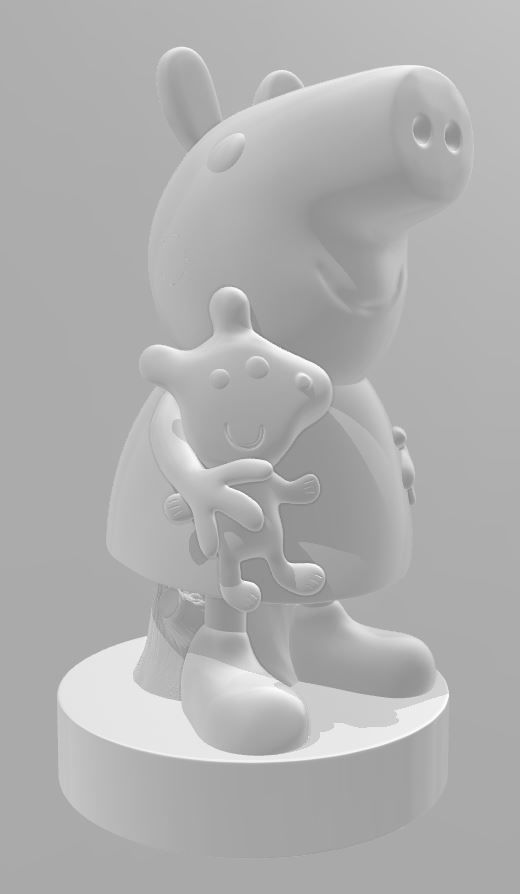 Peppa Pig - 3d Print File