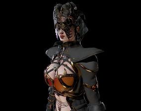 Dark Mage 3D asset