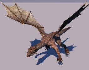 animals Dragon 3D model
