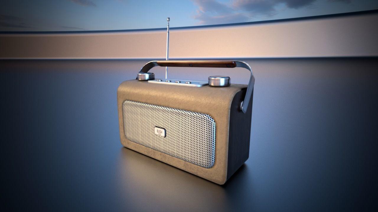 Bush Retro Style Digital Radio