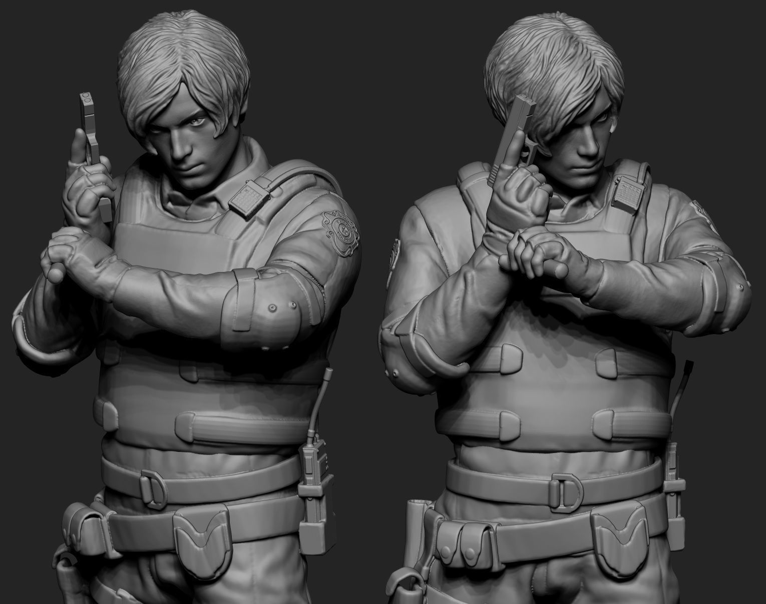 3d Print Model City Leon Kennedy Cgtrader