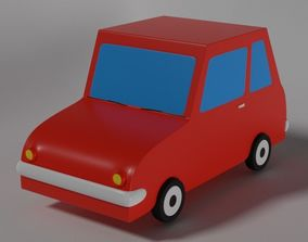 Cartoonish Car 3D model