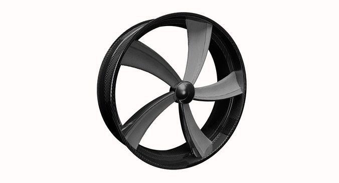 wheel disk 3d model max obj mtl 3ds fbx dxf stl 1