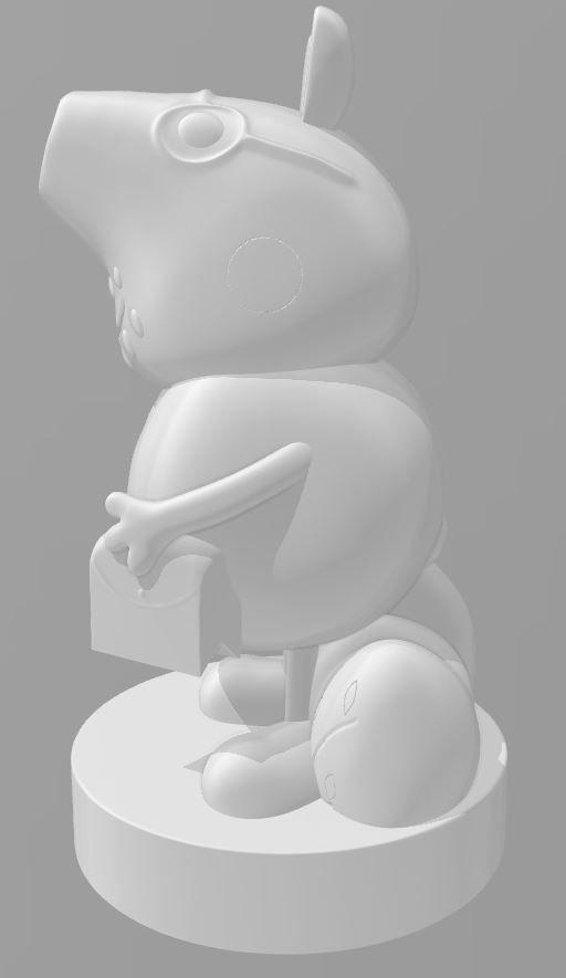 Peppa Pig DADDY PIG - 3d Print File