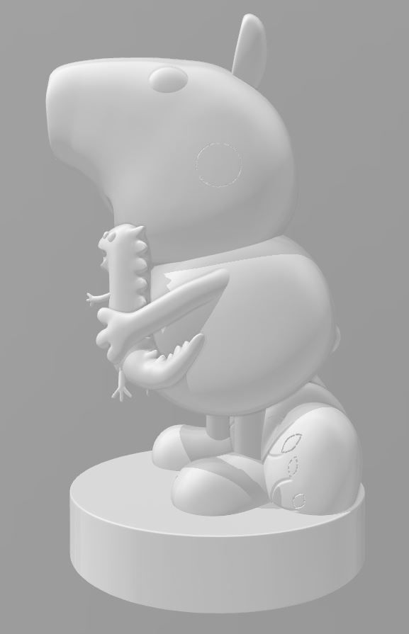 Peppa Pig - GEORGE PIG - 3d Print File