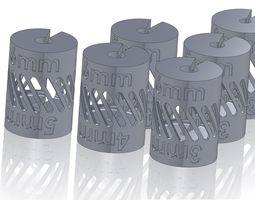 shaft coupling - metric - reducers 3d print model