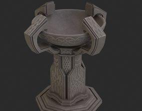 3D model Fantasy candlestick