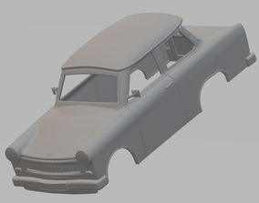 Trabant 601 Printable Body Car