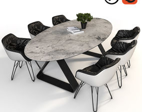 3D model Dressy Lap and Stay table