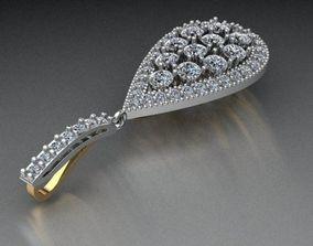 3D print model Pear pendant