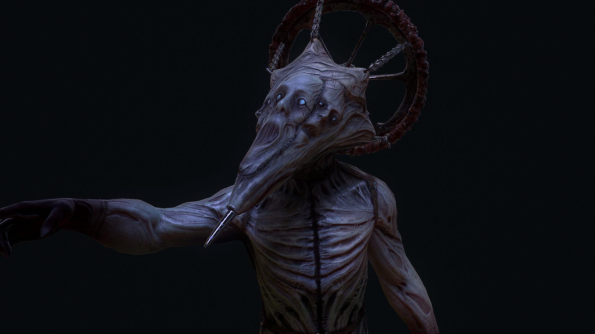 Conehead creepy horror enemy