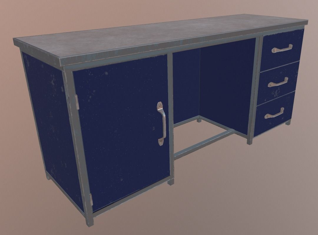 Crafting Table 3d Model