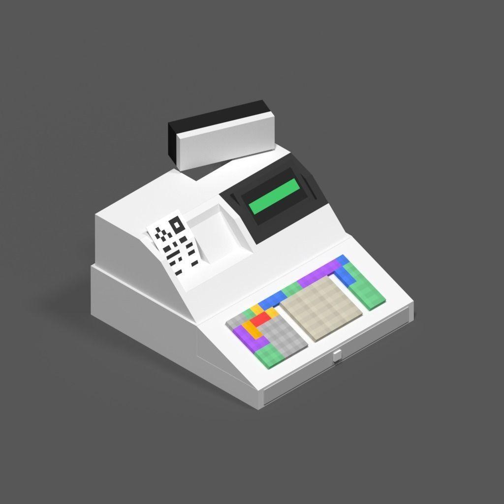 Cash Register JSON Model