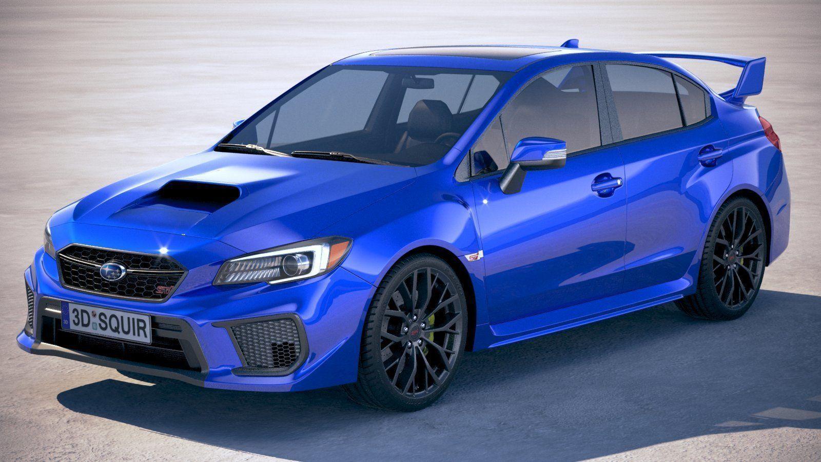 3D Subaru WRX STI s209 2019 | CGTrader