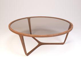 3D interior Ceccotti Stella table