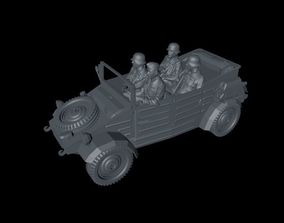 3D printable model German Wehrmacht Kuebelwagen VW Typ 2