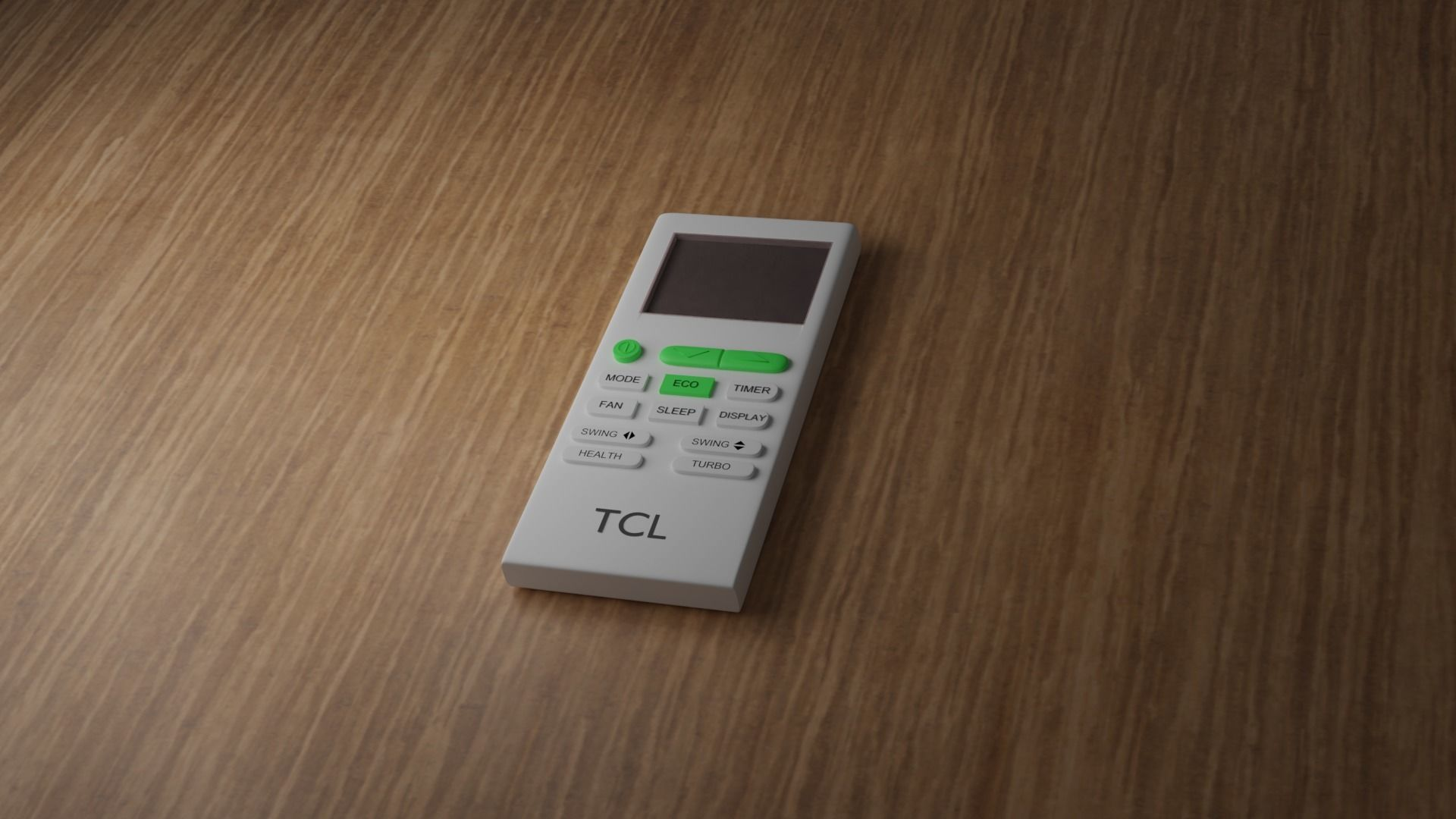 AC Remote Control 3D | CGTrader