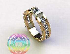 3D print model jewelry sterling fashion jewel silver 1