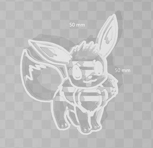 Eevie Cookie Cutter Pokemon