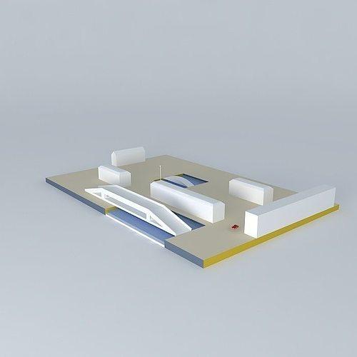 3 wheeled car sketchyphysics 3d model max obj mtl 3ds fbx stl dae 1