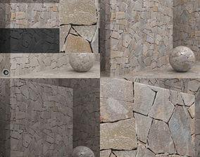 3D model Material seamless - Stone - masonry