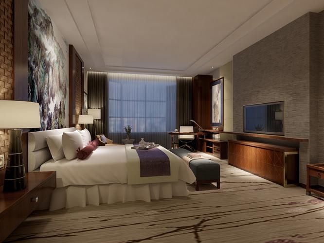 Bedroom interior 3d model max for Model bedroom interior design