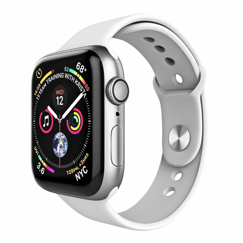 pretty nice f49a4 846b5 Apple Watch Series 4 Sport 44mm Silver Aluminum   3D model