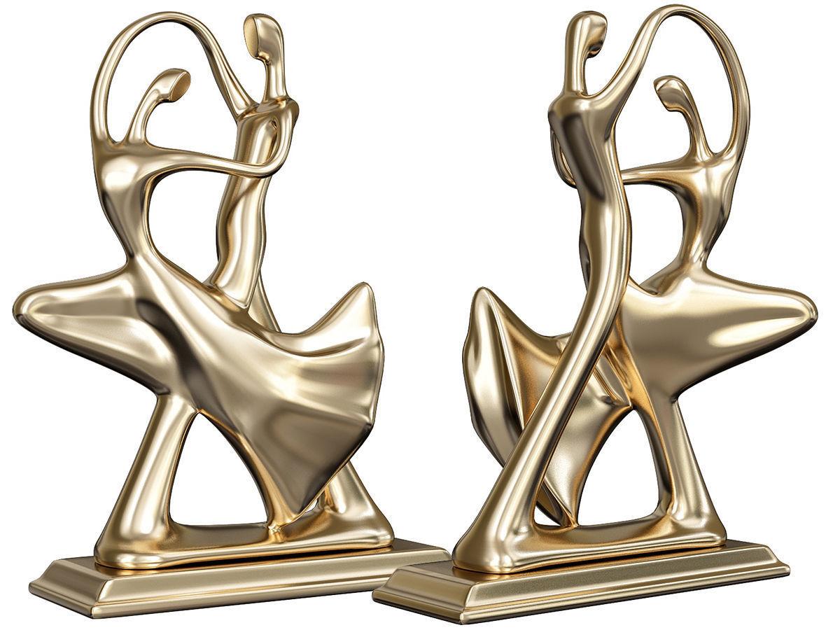 Dancing Couple Sculpture