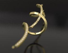 ZEFIR earrings 3D printable model