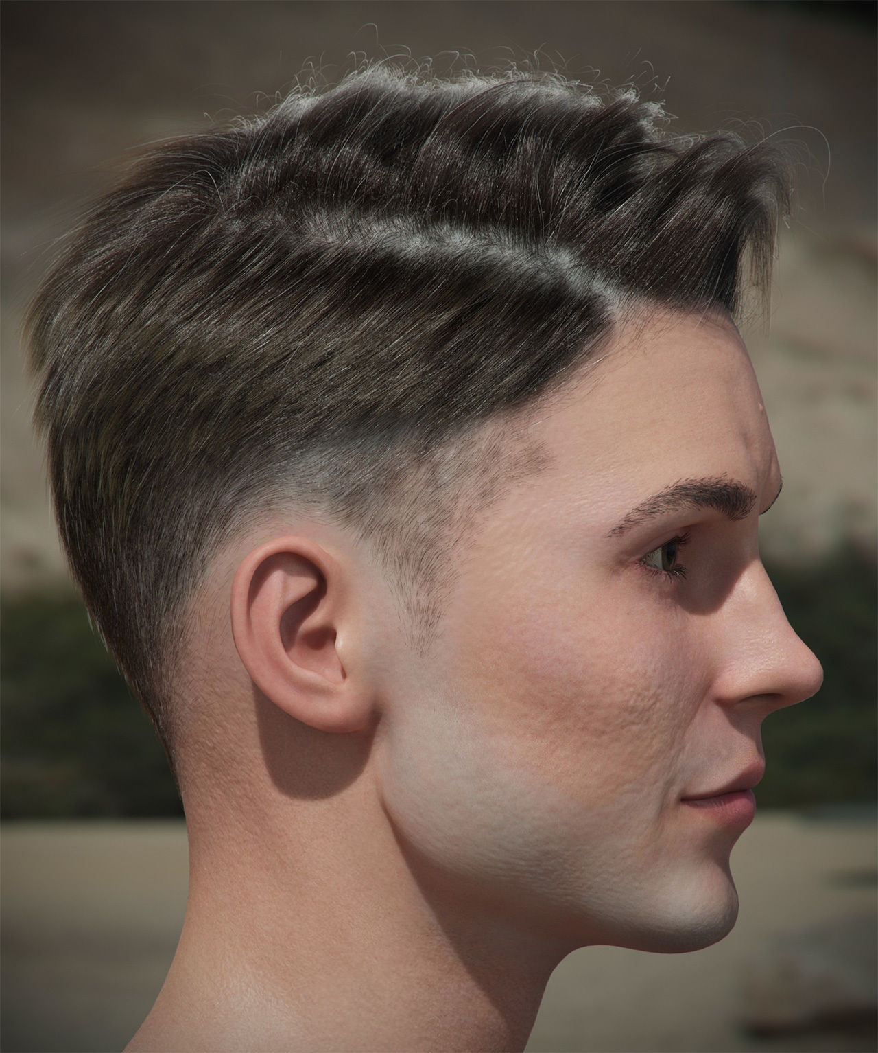 Hair style with changes request