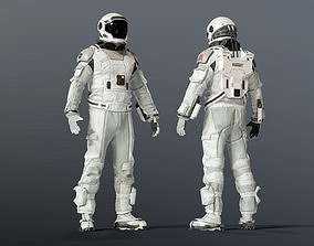 3D INTERSTELLAR SPACE SUIT