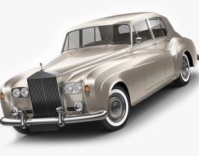 3D saloon Rolls Royce Silver Cloud III
