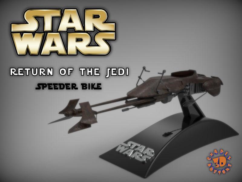 Star Wars - Return of the Jedi Speeder Bike