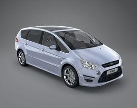 Ford S-MAX 2011 Titanium X Sport vehicle 3D model