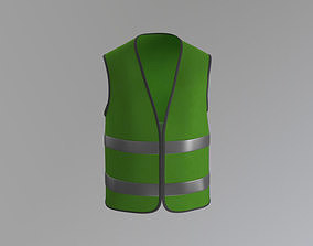 3D asset Worker Vest