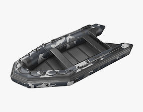 3D asset VR / AR ready Inflatable Boat