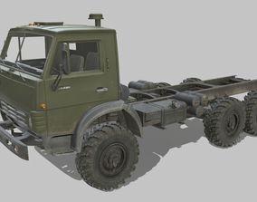 3D model Kamaz 4310