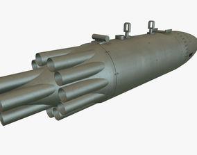 3D asset Rocket Launcher UB-16-57KV