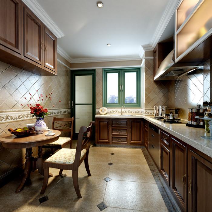 3d Max Kitchen Interior Design: Kitchen Interior 3D Model MAX