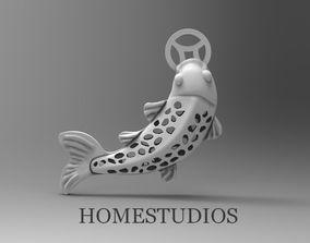 3D print model PENDANT FISH 2 PARTS