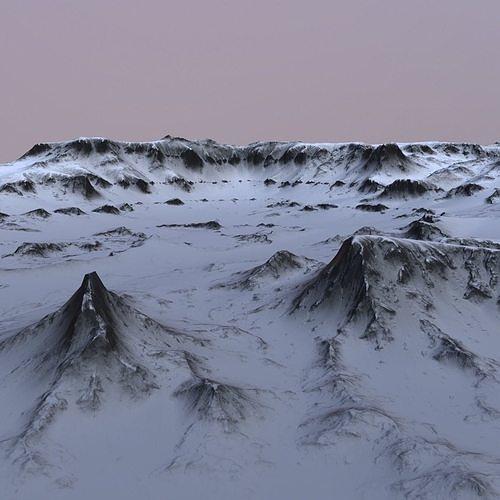 landscape 49 3d model low-poly obj mtl 1
