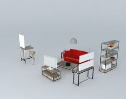 arquitetura 3d models download 3d arquitetura files. Black Bedroom Furniture Sets. Home Design Ideas