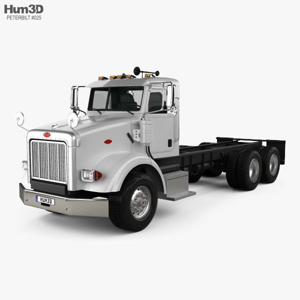 Peterbilt 357 Day Cab Chassis Truck 2006