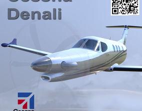 Cessna Textron Denali 3D asset