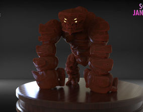 Golem Sculpture 3D print model